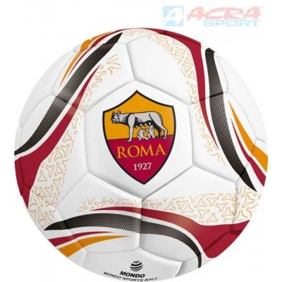 ACRA Míč kopací fotbalový licenční MONDO A.S. ROMA vel.5 šitý