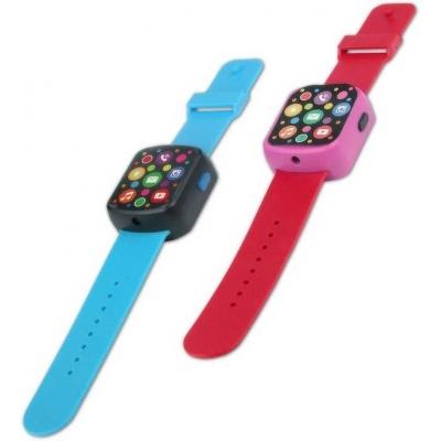 Chytré fashion LED hodinky dětské záznam hlasu na baterie Světlo Zvuk 2 barvy