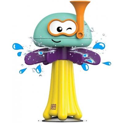 Baby chobotnička zábavná do vany s přísavkou do vody pro miminko