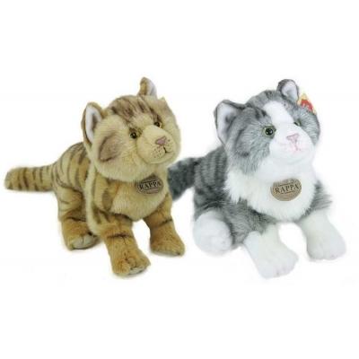 PLYŠ Kočka 28 cm stojící 2 druhy * PLYŠOVÉ HRAČKY *