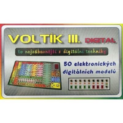 SVOBODA VOLTÍK III - elektronická stavebnice č.3