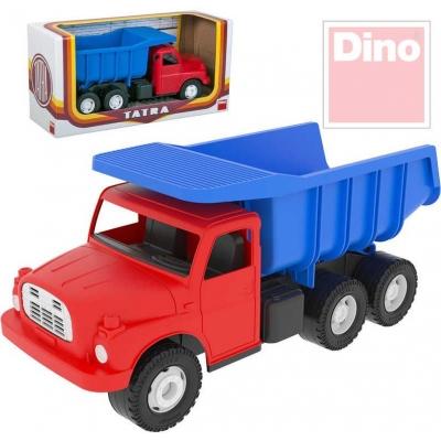 DINO Tatra T148 klasické nákladní auto na písek 30cm modročervená sklápěcí korba