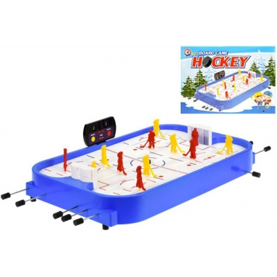 Hra Hokej lední stolní s ukazatelem skore plast *SPOLEČENSKÉ HRY*