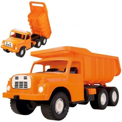 DINO Tatra T148 klasické nákladní auto na písek 73cm oranžové sklápěcí korba