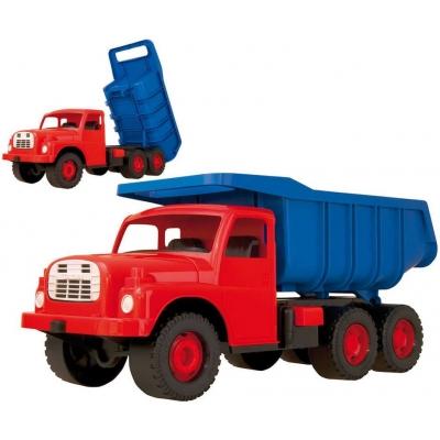 DINO Tatra T148 klasické nákladní auto na písek 73cm modročervené sklápěcí korba