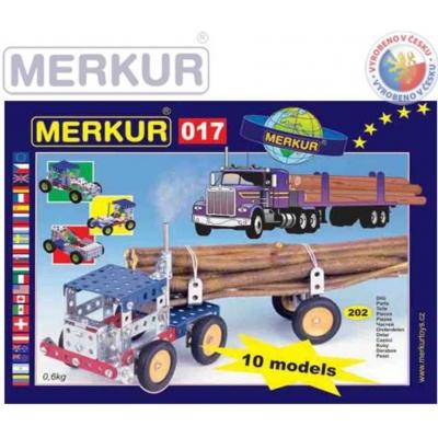 MERKUR M 017 Auto Kamion 202 dílků *KOVOVÁ STAVEBNICE*