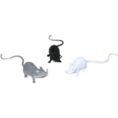 Myš 18 cm 3 barvy GUMA