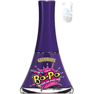 EP Line BO-PO Lak na nehty slupovací fialový mění barvu Grape Soda