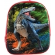 Batoh dětský 3D dinosaurus na zip s poutkem s popruhy na záda v sáčku