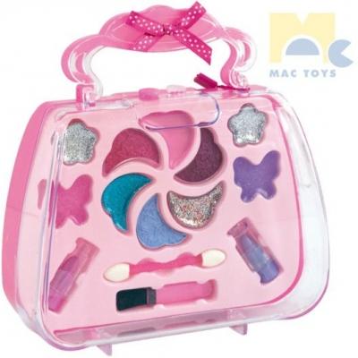 MAC TOYS Makeup set kabelka uzavíratelná dětské šminky