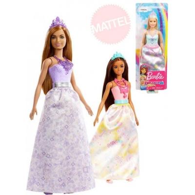 MATTEL BRB Panenka Barbie princezna kouzelná dlouhé šaty různé druhy