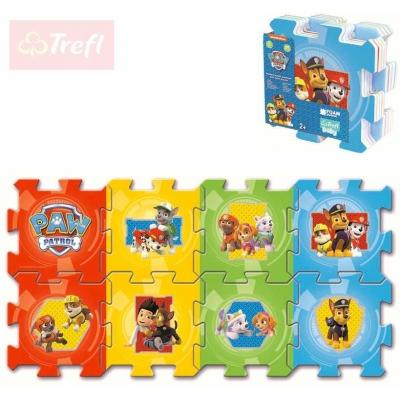TREFL Baby puzzle soft pěnové Tlapková patrola 8 dílků 32x32cm pro miminko
