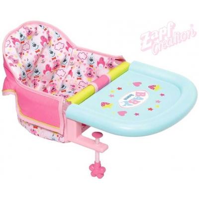 ZAPF BABY BORN Jídelní židlička se stolečkem pro panenku miminko na stůl