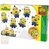 SES CREATIVE Korálky zažehlovací Mimoni (Minions) kreativní set v krabici