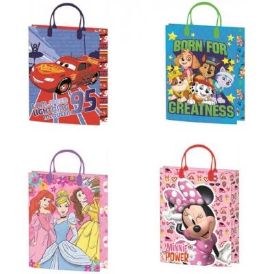 Taška dětská dárková Disney 19x25cm různé motivy