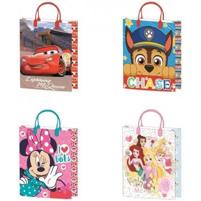 Taška dětská dárková Disney 27x37cm různé motivy
