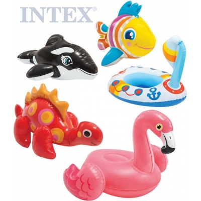 INTEX Hračky nafukovací zvířátko do vody 9 druhů