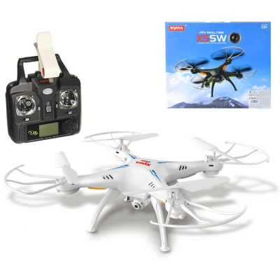 RC Dron na vysílačku 2,4GHz na baterie Wi-Fi kvadrokoptera s HD kamerou