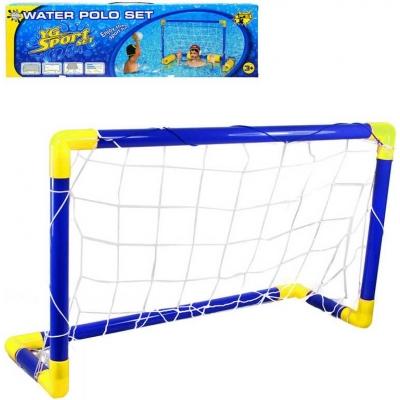 Branka multifunkční na vodní polo / fotbal / hokej 3v1 set s míčkem a doplňky