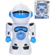 Robot tančící a jezdící na baterie s melodiemi Světlo Zvuk plast
