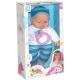 Panenka miminko mluvící 38cm v oblečku na baterie různé druhy Zvuk