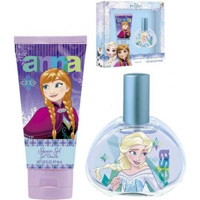 Dárková sada toaletní voda + sprchový gel Frozen (Ledové Království) dětská kosmetika