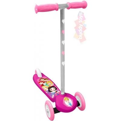 BUDDY TOYS Koloběžka Disney Princess 3 kolečka kloubové řízení