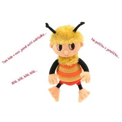 PLYŠ Příběhy Včelích medvídků Čmelda 26 cm zpívající * PLYŠOVÉ HRAČKY *