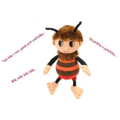 PLYŠ Příběhy Včelích medvídků Brumda 26 cm zpívající * PLYŠOVÉ HRAČKY *