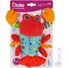 ET BAM BAM PLYŠ Baby přívěšek plyšový Krevetka hrající pro miminko Zvuk
