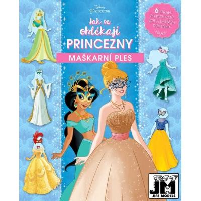 JIRI MODELS Jak se oblékají Princezny Disney maškarní ples