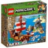 LEGO MINECRAFT Dobrodružství pirátské lodi 21152 STAVEBNICE