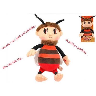PLYŠ Příběhy včelích medvídků Brumda 29 cm s písničkami * PLYŠOVÉ HRAČKY *