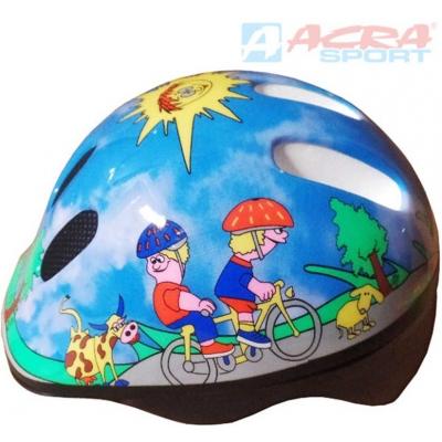ACRA Helma cyklistická dětská Brother vel. XS CSH06