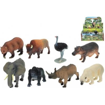 Zvířátka divoká SAFARI 10-18 cm 18 ks v balení