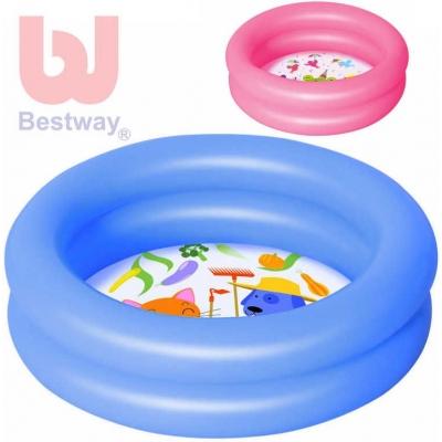 BESTWAY Bazén 2 komory 61x15cm 23l