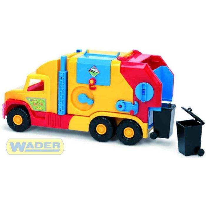 WADER Super Truck Auto Popelář krátký 36580