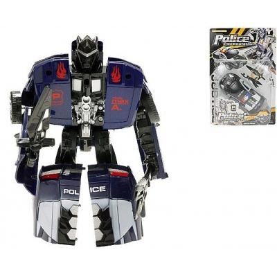 Auto transformers ROBOT policejní 16 cm