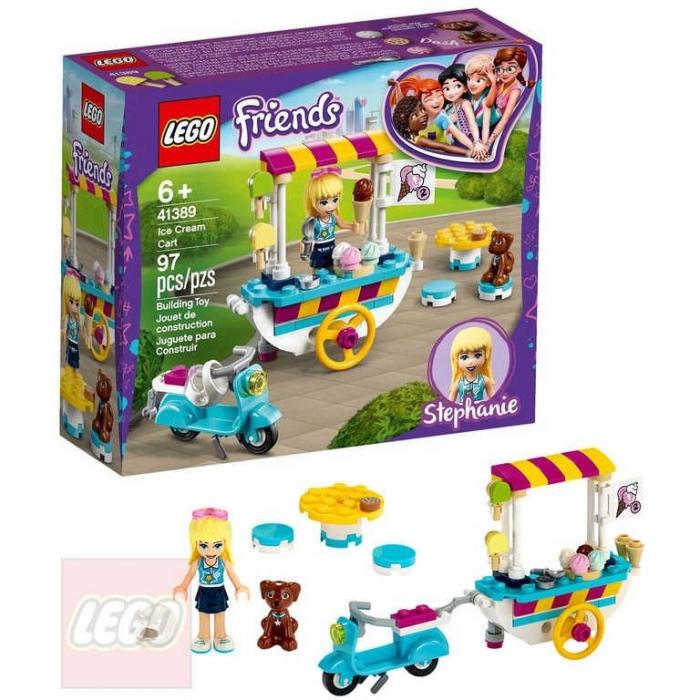 LEGO FRIENDS Pojízdný zmrzlinový stánek 41389 STAVEBNICE