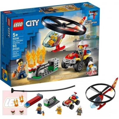 LEGO CITY Zásah hasičského vrtulníku 60248 STAVEBNICE
