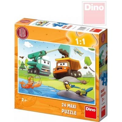 DINO Puzzle TATRA maxi 66x47cm 24 dílků v krabici