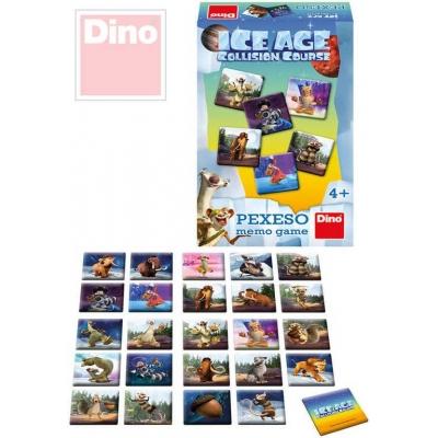 DINO Hra pexeso Doba Ledová 5 (Ice Age) *SPOLEČENSKÉ HRY*