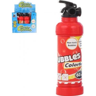 Bublifuk hasicí přístroj 60ml dětský bublifukovač