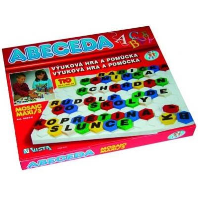 VISTA Mozaika maxi - abeceda 110 dílů
