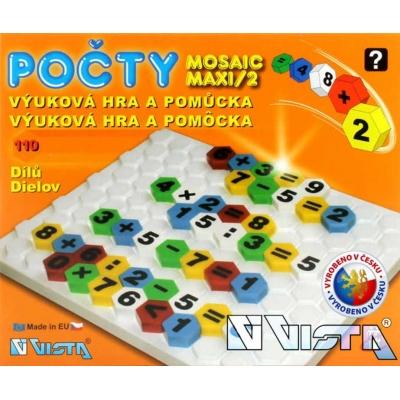 VISTA Mozaika maxi - počty