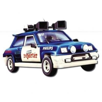 MONTI SYSTÉM 13 Auto Renault 5 RADIO stavebnice MS13 0105-13