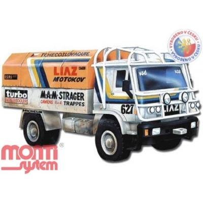 MONTI SYSTÉM 07 Auto Liaz DAKAR stavebnice MS07 0103-7