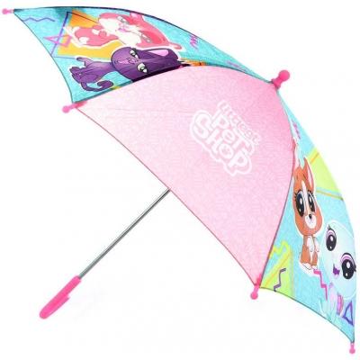 Deštník dětský Littlest Pet Shop 58x73cm manuální v sáčku