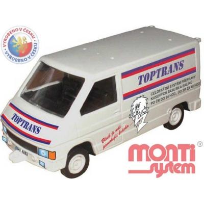 MONTI SYSTÉM 27.1 Auto Renault Trafic TOPTRANS MS27.1 0102-27.1