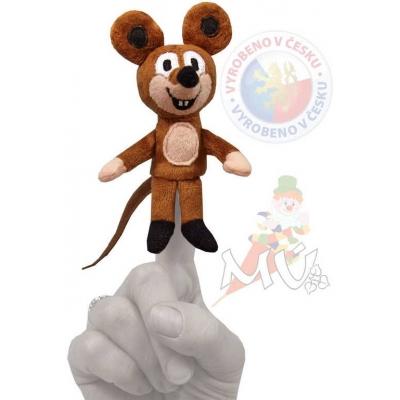 MORAVSKÁ ÚSTŘEDNA Maňásek prstový Myška 8 cm